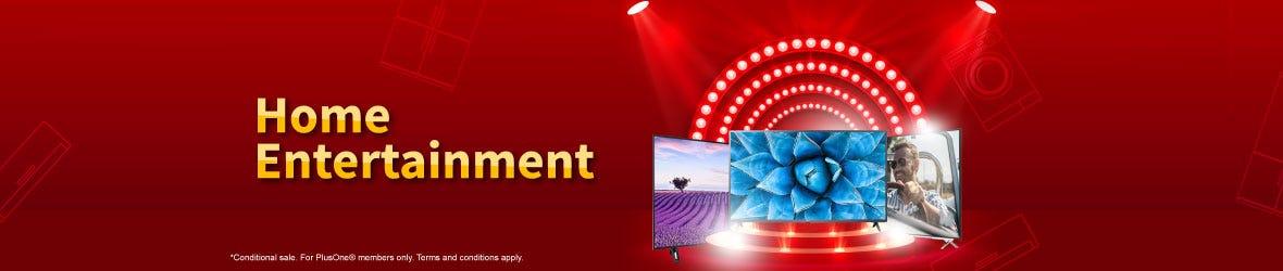 Home Entertainment Senheng Mega Brand Day Banner
