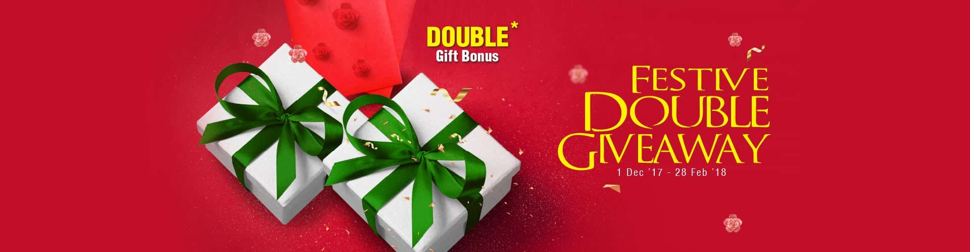 Festive Double Giveway