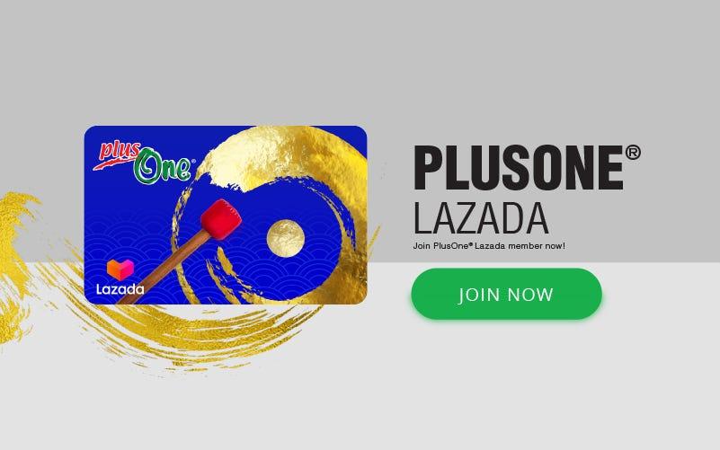 PlusOne Lazada